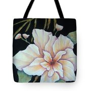 Hawaiian Pua Tote Bag by Pamela Allegretto