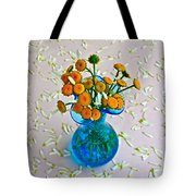 He Loves Me Bouquet Tote Bag by Frozen in Time Fine Art Photography