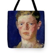 Head Of A Young Man Tote Bag by Francis Campbell Boileau Cadell