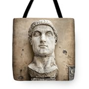 Head Of Constantine Tote Bag by Joan Carroll