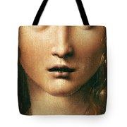 Head Of The Savior Tote Bag by Leonardo Da Vinci