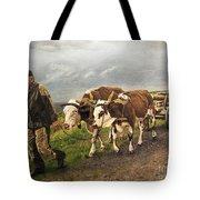 Heading Home Tote Bag by Deborah Strategier