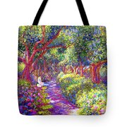 Healing Garden Tote Bag by Jane Small