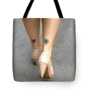 Heart And Shamrock In Sao Paulo Tote Bag by Julie Niemela