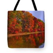 Heart of Autumn Tote Bag by Terri Gostola