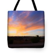 Heart Sunset Tote Bag by Augusta Stylianou