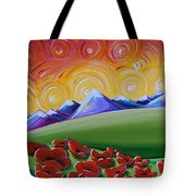 Heaven On Earth Tote Bag by Cindy Thornton