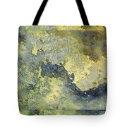 Heavenly Clouds Abstract Tote Bag by Debbie Portwood