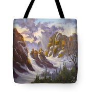 Heavenly Light Tote Bag by Mohamed Hirji