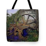 Heavy Metal Tote Bag by Terry Reynoldson