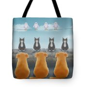 Heirarchy Tote Bag by Marlene Watson