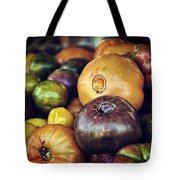 Heirloom Tomatoes At The Farmers Market Tote Bag by Scott Norris