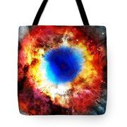 Helix Nebula Tote Bag by Dan Sproul