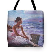 Her Dream Tote Bag by Elena Sokolova