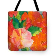 Hibiscus Flowers Tote Bag by Michelle Wiarda
