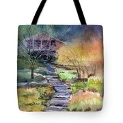 Hideaway Tote Bag by Kris Parins