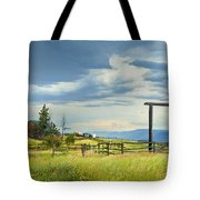 High Country Farm Tote Bag by Theresa Tahara