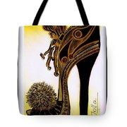 High Heel Heaven Tote Bag by Jolanta Anna Karolska