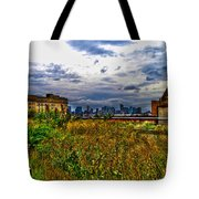 High Line on the Hudson Tote Bag by Randy Aveille