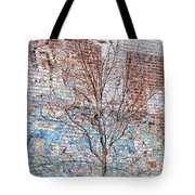 High Line Palimpsest Tote Bag by Rona Black