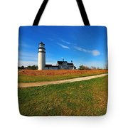 Highland Point Light Tote Bag by Catherine Reusch  Daley