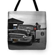 Highway Patrol 5 Tote Bag by Tommy Anderson
