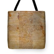HIPPOCRATIC OATH Tote Bag by Granger