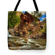 Historic Colorado Landscape Tote Bag by Adam Jewell