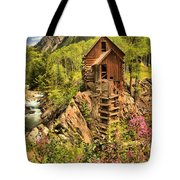 Historic Crystal Colorado Tote Bag by Adam Jewell