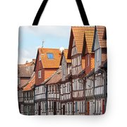 Historic houses in Germany Tote Bag by Heiko Koehrer-Wagner
