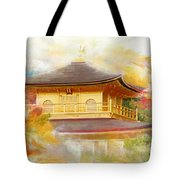 Historic Monuments Of Ancient Kyoto  Uji And Otsu Cities Tote Bag by Catf