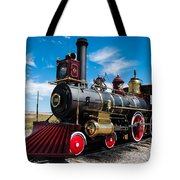 Historic Steam Locomotive - Promontory Point Tote Bag by Gary Whitton