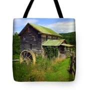 Historical Whites Mill Tote Bag by Karen Wiles