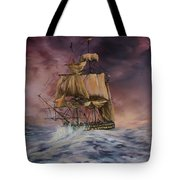 H.m.s Victory Tote Bag by Jean Walker