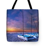 Hobecats Tote Bag by Debra and Dave Vanderlaan