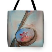 Hockey Tote Bag by Elaine Duras