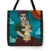 Holding Diegito Tote Bag by Victoria De Almeida