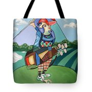 Hole In One Tote Bag by Anthony Falbo