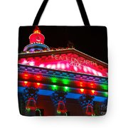 Holiday Lights 2012 Denver City And County Building L1 Tote Bag by Feile Case