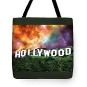 Hollywood - Home Of The Stars By Sharon Cummings Tote Bag by Sharon Cummings