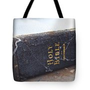 Holy Bible Tote Bag by Gwyn Newcombe