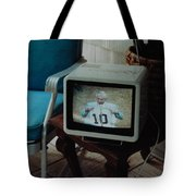 Holy Cow Phil Rizzuto Retired Yankee Number On 08 04 1985 Tote Bag by Rob Hans