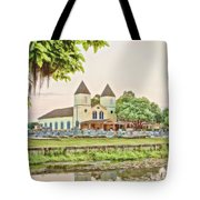 Holy Rosary Church Tote Bag by Scott Pellegrin