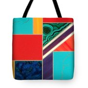 Homage To Inlay #1 Tote Bag by Karyn Robinson