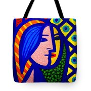 Homage To Pablo Picasso Tote Bag by John  Nolan