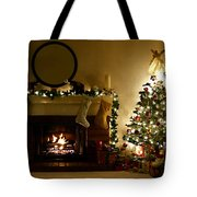 Home For The Holidays Tote Bag by Ellen Henneke