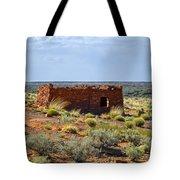 Homolovi Ruins State Park Az Tote Bag by Christine Till