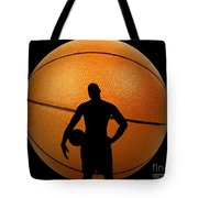 Hoop Dreams Tote Bag by Cheryl Young
