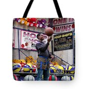 Hoop Shots Tote Bag by Rory Sagner