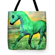 Horizon Tote Bag by Betsy C  Knapp